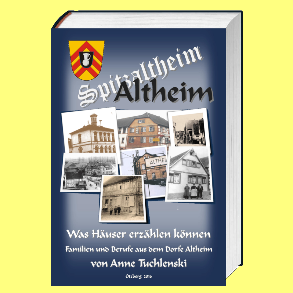 "Buchtitel ""Altheim - Was H�user erz�hlen k�nnen"""