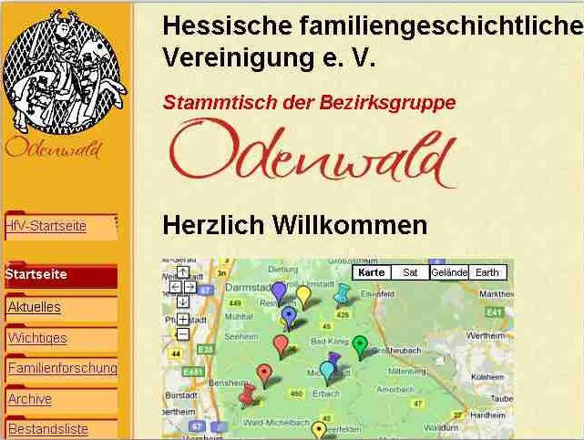 Regionalgruppe Odenwald im HFV